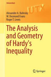 Analysis and Geometry of Hardy's Inequality (ISBN: 9783319228693)