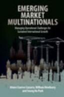 Emerging Market Multinationals (ISBN: 9781107073142)