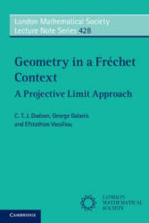 Geometry in a Frechet Context - A Projective Limit Approach (ISBN: 9781316601952)