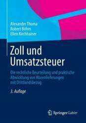 ZOLL UND UMSATZSTEUER (ISBN: 9783658001643)