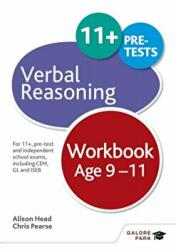 Verbal Reasoning Workbook Age 9-11 - For 11+, Pre-Test and Independent School Exams Including CEM, GL and ISEB (ISBN: 9781471849329)