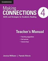 Making Connections Level 4 Teacher's Manual - Skills and Strategies for Academic Reading (ISBN: 9781107516168)