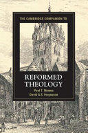 Cambridge Companion to Reformed Theology (ISBN: 9781107027220)