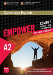 Cambridge English Empower Elementary Combo B with Online Assessment (ISBN: 9781316601235)