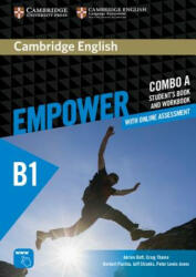 Cambridge English Empower Pre-Intermediate Combo a with Online Assessment, Paperback (ISBN: 9781316601242)
