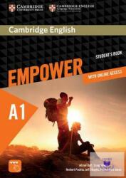 Cambridge English Empower Starter Student's Book with Online Assessment and Practice, and Online Workbook - Adrian Doff, Craig Thaine, Herbert Puchta, Jeff Stranks, Peter Lewis-Jones (ISBN: 9781107465961)