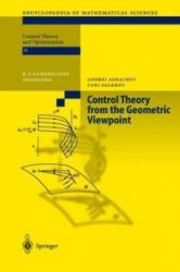 Control Theory from the Geometric Viewpoint - Andrei A. Agrachev, Yuri Sachkov (ISBN: 9783642059070)