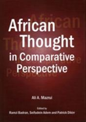 African Thought in Comparative Perspective (ISBN: 9781443853934)