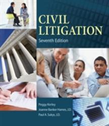 Civil Litigation (ISBN: 9781285449180)