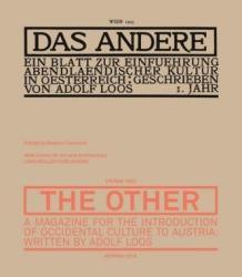 Adolf Loos, Colomina Beatriz - Andere - Adolf Loos, Colomina Beatriz (ISBN: 9783037784815)