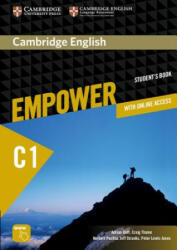 Cambridge English Empower Advanced Student's Book with Online Assessment and Practice, and Online Workbook (ISBN: 9781107469099)