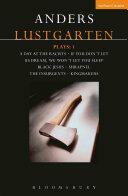 Lustgarten Plays: 1 (ISBN: 9781350005938)