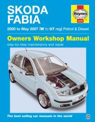Skoda Fabia Petrol & Diesel Owners Workshop Manual (ISBN: 9780857338754)