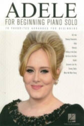 Adele for Beginning Piano Solo (ISBN: 9781495058837)