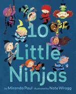 10 Little Ninjas (ISBN: 9780553534979)