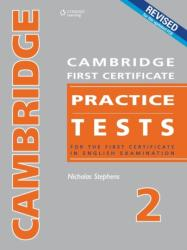 Cambridge First Certificate Practice Tests - Teacher's Book 2 - Nicholas Stephens (ISBN: 9789604034512)