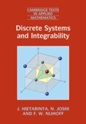 Discrete Systems and Integrability (ISBN: 9781107042728)
