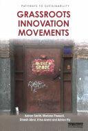 Grassroots Innovation Movements (ISBN: 9781138901223)