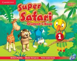 Super Safari American English Level 1 Student's Book with DVD-ROM (ISBN: 9781107481770)