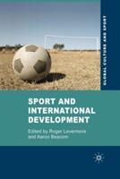 Sport and International Development (ISBN: 9781349360109)