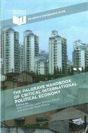 Palgrave Handbook of Critical International Political Economy (ISBN: 9781137500175)