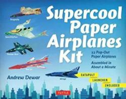 Supercool Paper Airplanes Kit (ISBN: 9780804845724)