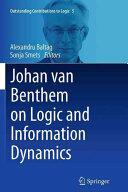 Johan Van Benthem on Logic and Information Dynamics (ISBN: 9783319382975)