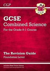 New Grade 9-1 GCSE Combined Science: Revision Guide with Online Edition - Foundation (ISBN: 9781782945802)