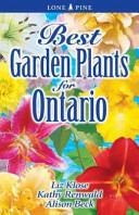 Best Garden Plants for Ontario (ISBN: 9781551054773)