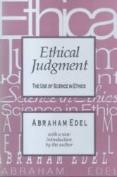 Ethical Judgment (ISBN: 9781560007944)