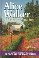 Alice Walker - A Critical Companion (ISBN: 9780313320248)