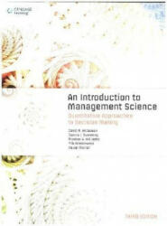 Introduction to Management Science - Quantitative Approaches to Decision Making (ISBN: 9781473729322)