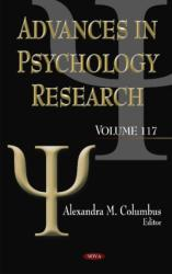 Advances in Psychology Research (ISBN: 9781634859622)