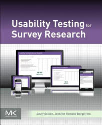 Usability Testing for Survey Research (ISBN: 9780128036563)