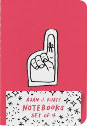 Adam J. Kurtz Notebooks (Set of 4) - Adam J. Kurtz (ISBN: 9781419724329)