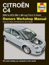 Citroen C4 Owners Workshop Manual - Peter Gill (ISBN: 9781785213755)