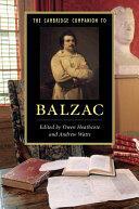 Cambridge Companion to Balzac (ISBN: 9781107691285)