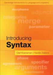 Introducing Syntax (ISBN: 9781107480643)