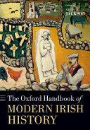 Oxford Handbook of Modern Irish History (ISBN: 9780198768210)