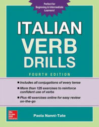 Italian Verb Drills (ISBN: 9781260010640)
