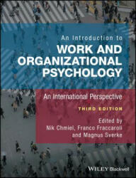 Introduction to Work and Organizational Psychology - NIK CHMIEL (ISBN: 9781119168027)