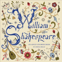 William Shakespeare - An Adult Coloring Book (ISBN: 9781454709992)