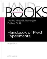 Handbook of Field Experiments - Esther Duflo (ISBN: 9780444633248)