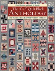 "4"" x 5"" Quilt-Block Anthology - Carol J. Hopkins (ISBN: 9781604688177)"