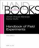 Handbook of Field Experiments, Volume 2 (ISBN: 9780444640116)