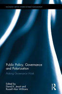 Public Policy, Governance and Polarization - Making Governance Work (ISBN: 9781138675933)