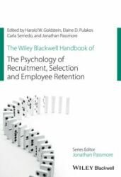 Wiley Blackwell Handbook of the Psychology of Recruitment, Selection and Employee Retention (ISBN: 9781118972694)