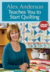 Alex Anderson Teaches You to Start Quilting (ISBN: 9781607051893)