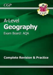 New A-Level Geography: AQA Year 1 & 2 Complete Revision & Practice (ISBN: 9781782946489)