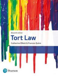 Tort Law - Catherine Elliott, Frances Quinn (ISBN: 9781292156095)